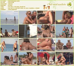 Mediterranean vol 1-2 - Nudist beach of Mediterranean of video - (RbA 720x540 - 1.5Gb+1.5Gb)