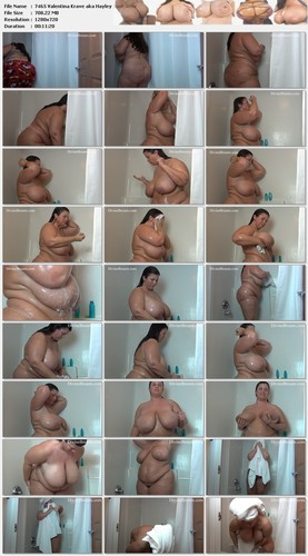 Valentina Krave aka Hayley Jane   Shower Tit Play HD