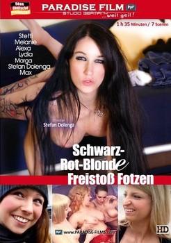 Schwarz-Rot-Blonde Freistoß Fotzen (2014) DVDRip